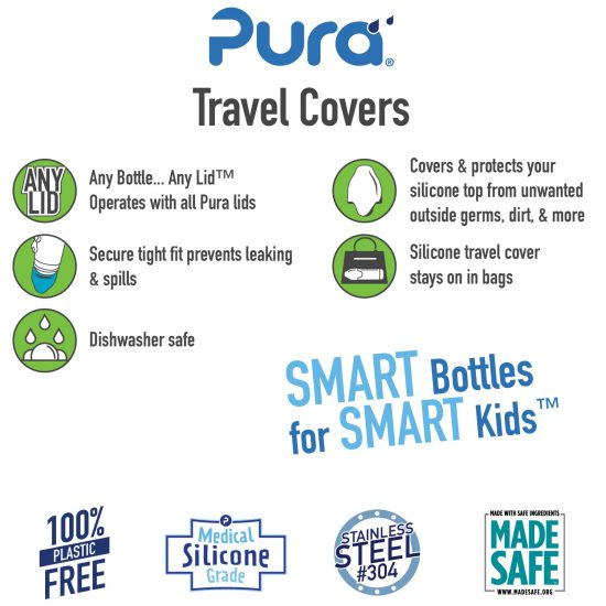 pura silicone travel covers