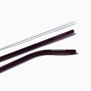 Paket Sedotan Stainless Steel