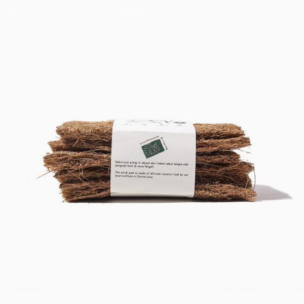 sabut cuci serat kelapa