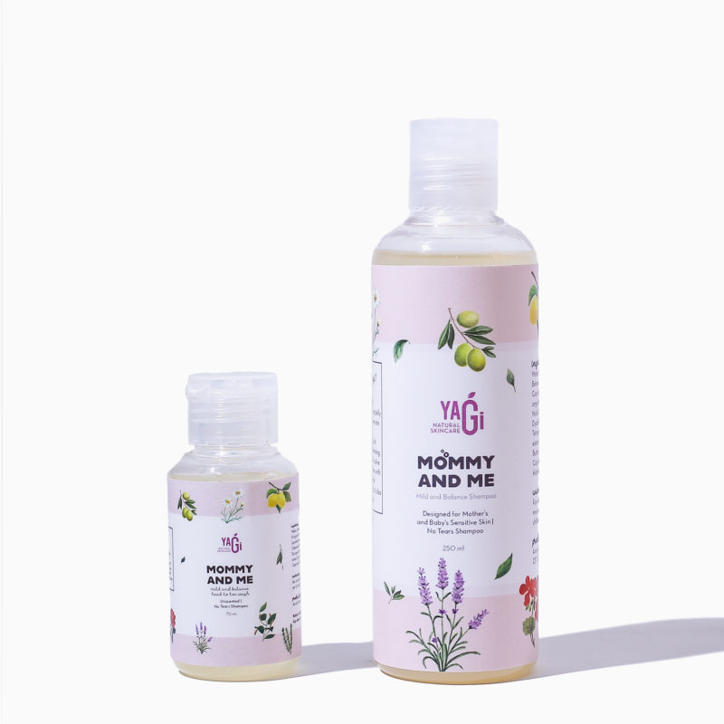 shampo alami ibu dan bayi