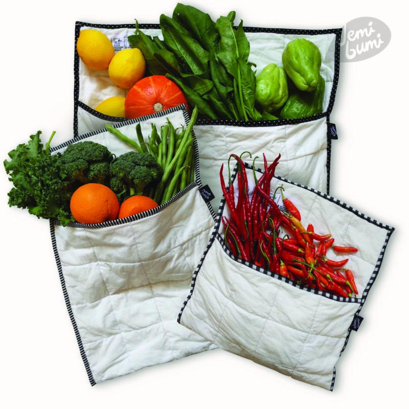 tas penyimpanan sayur