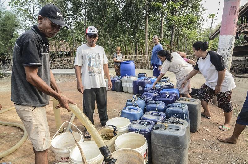jakarta kekurangan air bersih
